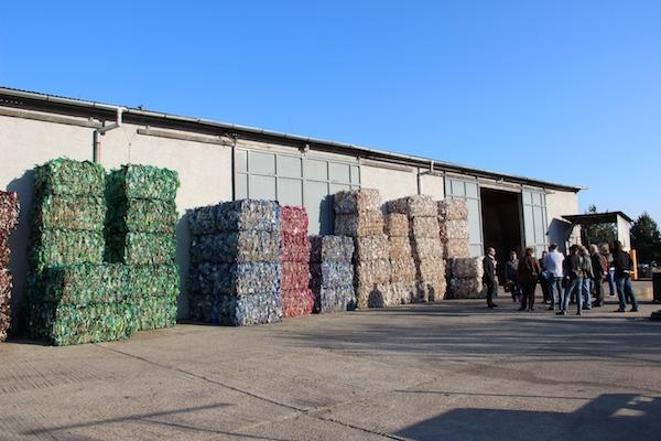 Nové stredisko recyklácie